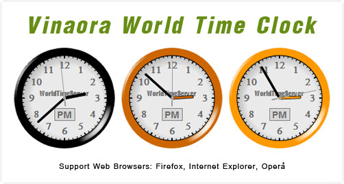 Vinaora-World-Time-Clock